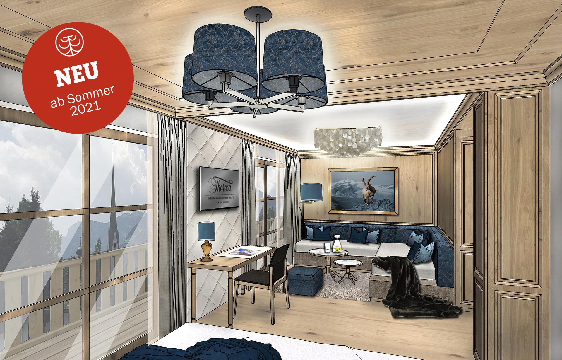 Hotel THERESA Umbau - Handwerk made in Tirol