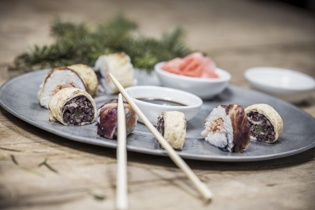 Gourmethotel Theresa im Zillertal  | Alpines Sushi mit regionalen Zutaten