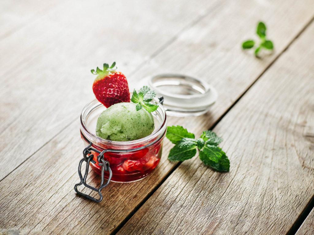 Gourmethotel Theresa im Zillertal  | Dessert mit selbstgemachtem Eis